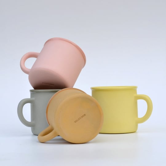 Atelier Dion Colored Clay Mugs