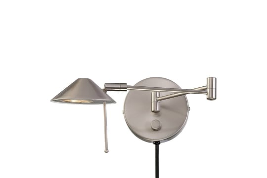 Lite Source Halogen Bulb Wall Light