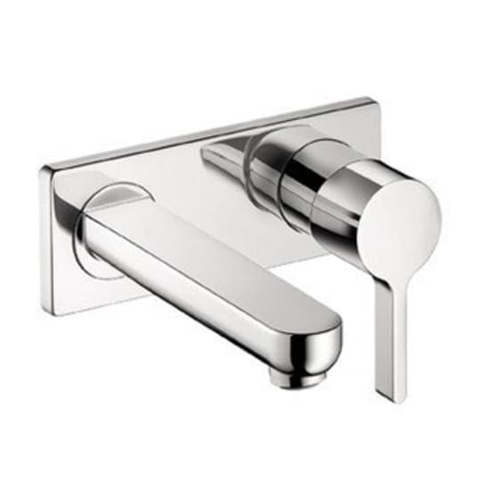 Wall-Mounted Single Handle Faucet from Hansgrohe
