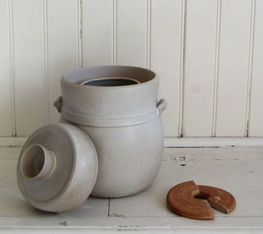 Fermentation Jar from Counter Culture Pottery