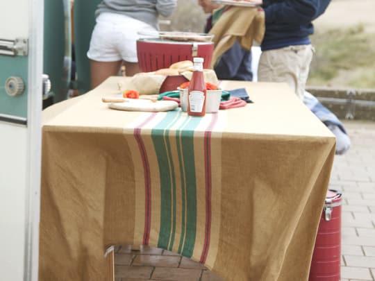 Surfer's Stripe Table Linens