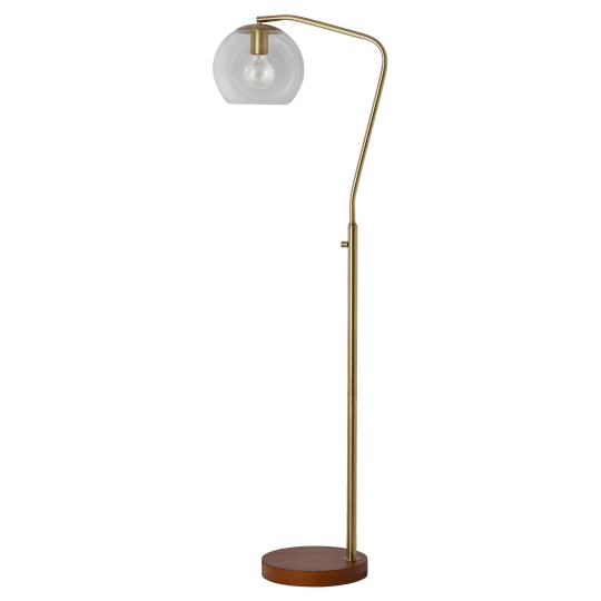 Threshold Menlo Collection Floor Lamp - Brass at Target
