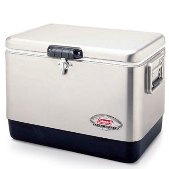 Coleman Stainless Steel Belted Cooler