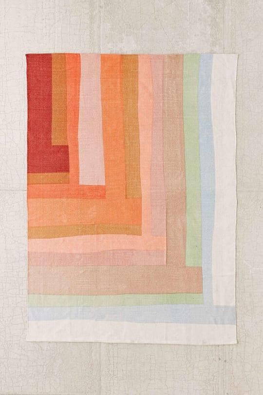 Mae Patchwork Printed Rug