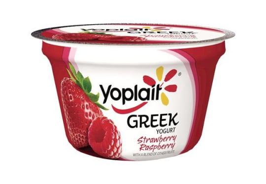 Yoplait Strawberry Raspberry Greek Yogurt