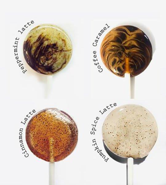 Coffee Lover Lollipop Assortment