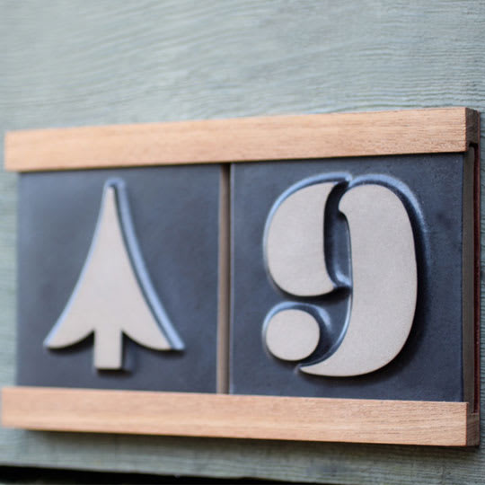 Eames House Numbers