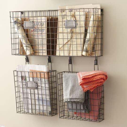 Birch Lane Wire Basket Wall Organizer