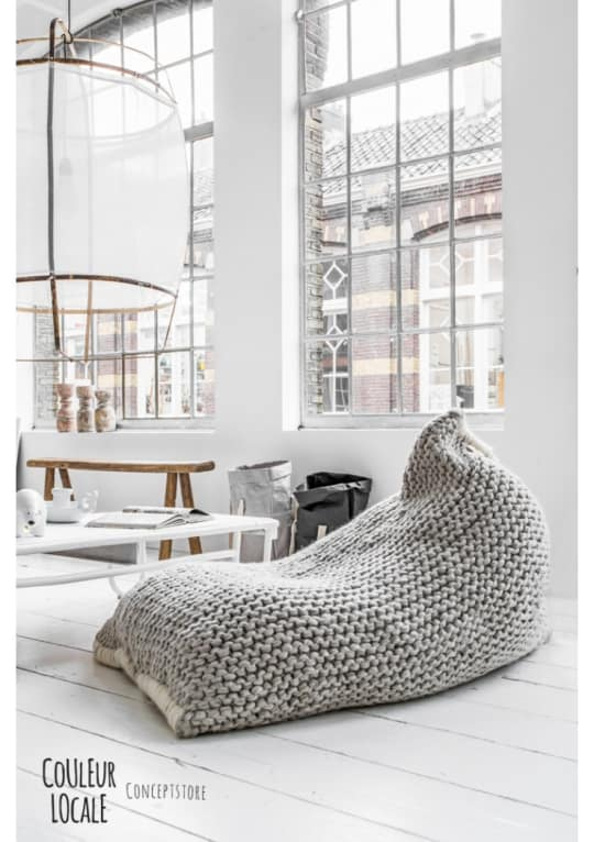 Zilalila Nest Bean Bag at Couleur Locale