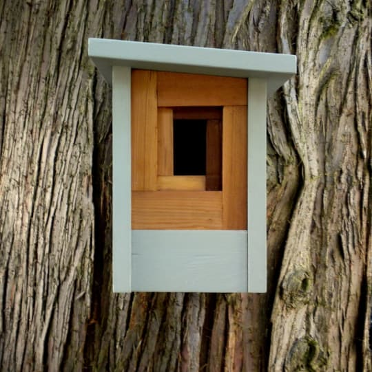 The Camera Shutter Birdhouse from Twig & Timber
