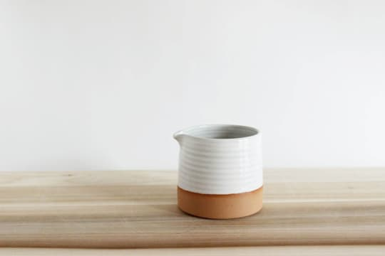 Short Pottery Pitcher from Julia Paul Pottery