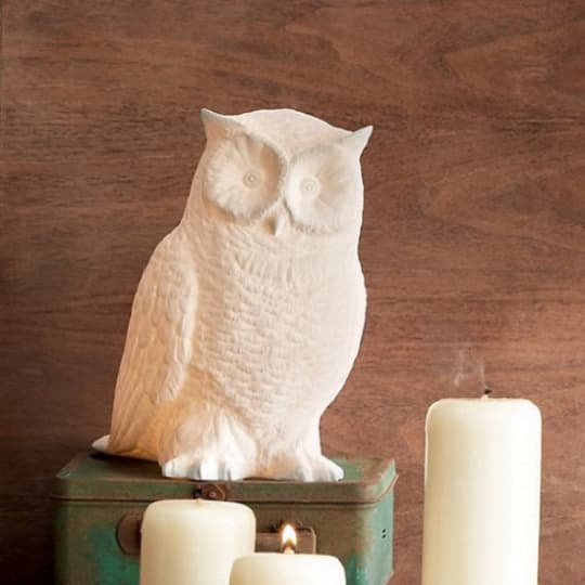 Great Horned Owl Lamp by Roost