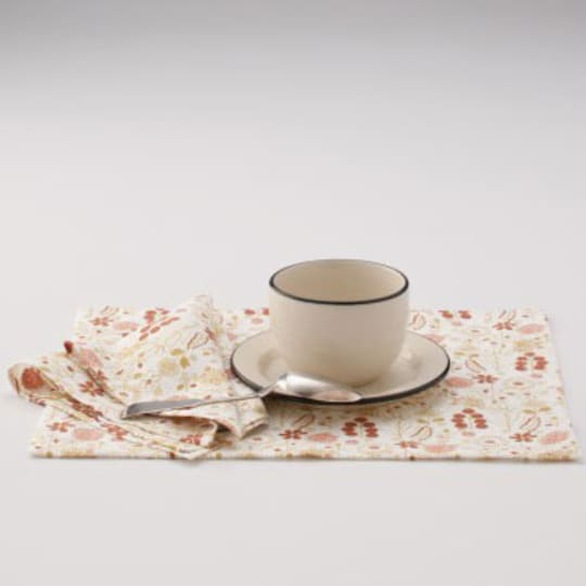 Egg Press Linen Placemat