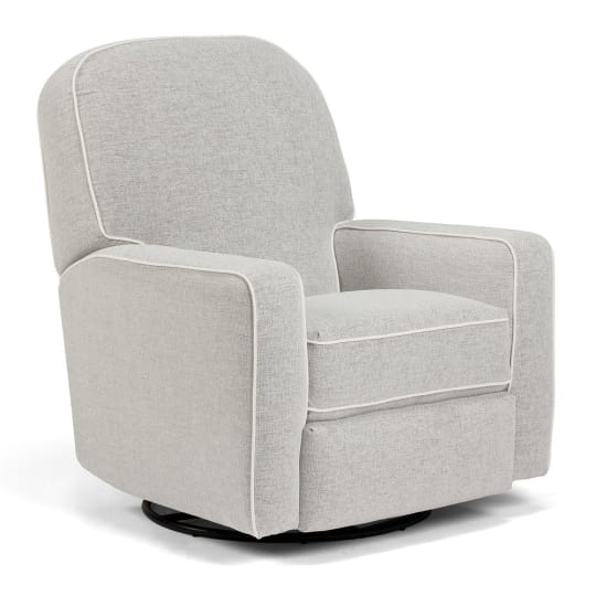 Best Chairs Blain Swivel Glider Recliner at Babies R Us