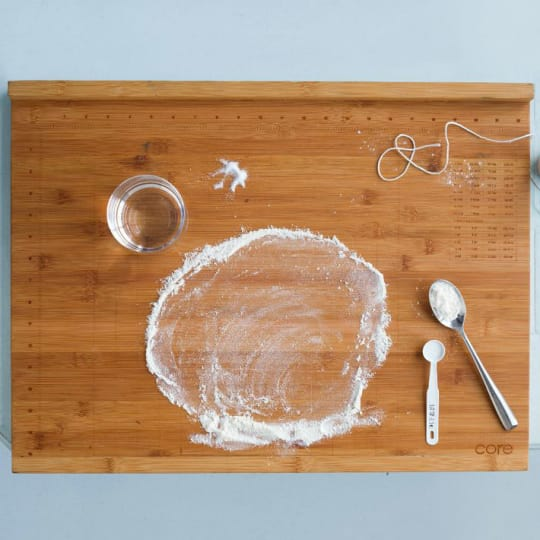 Core Bamboo Pro-Baker's Measuring Board from West Elm
