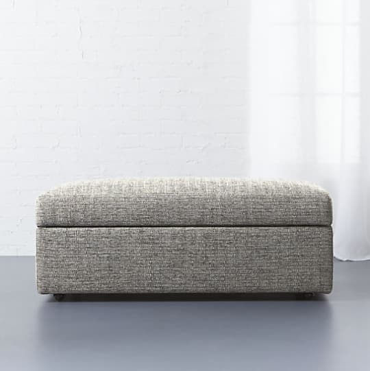 CB2 Movie Storage Ottoman