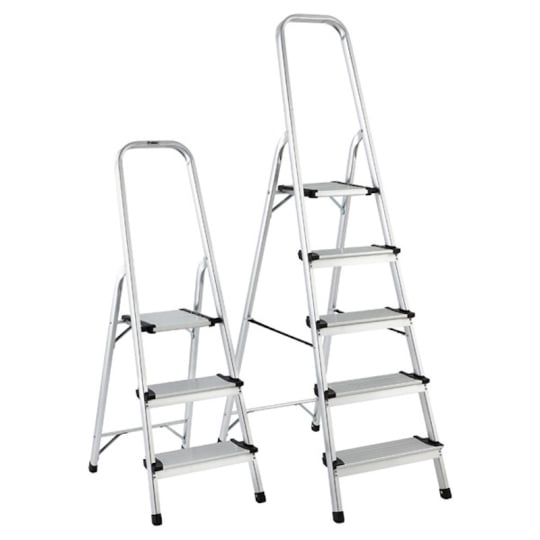 Container Store 3- and 5-Step Folding Ladders