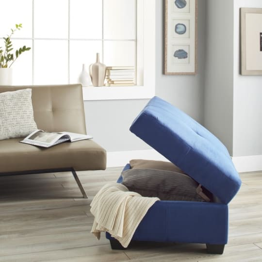 Vanderbilt Tufted Storage Ottoman Bench
