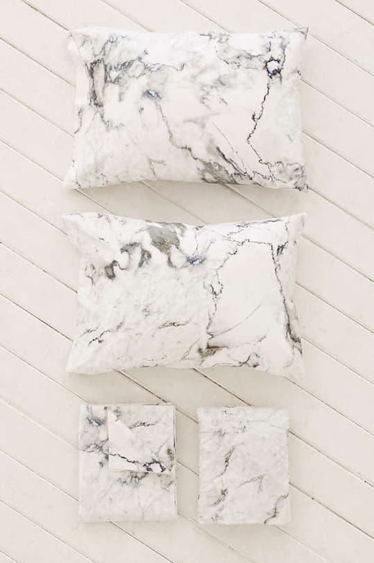 Marble Sheet Set at Urban Outfitters
