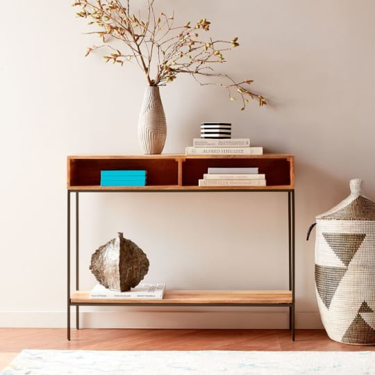 Industrial Storage Skinny Console at West Elm