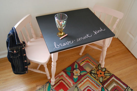 Before & After: Kids Table & Chairs | Apartment Therapy