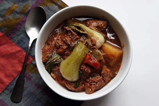 Filipino Recipe Pork Sinigang Soup Kitchn