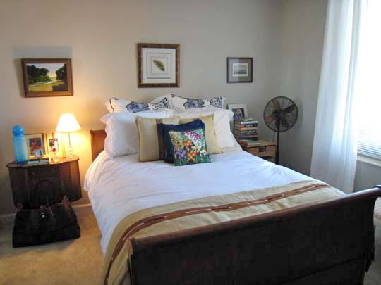 Location: Arlington County, VA Size: 675 Sq. Ft. Years Lived In: 6 Months.  Rent/Own: Rent