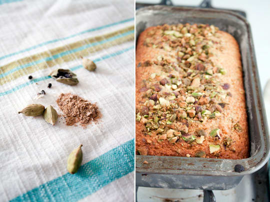 Pistachio & Marmalade Breakfast Cake from Cara and Phoebe ...