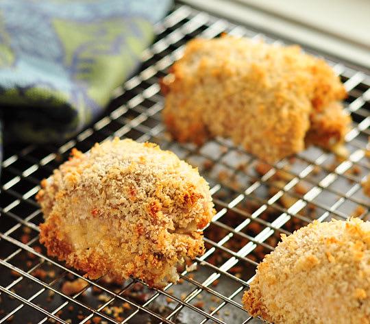 healthy dinner recipe fake fried chicken kitchn