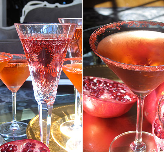 Easy Thanksgiving Cocktails: Easy Thanksgiving Cocktail Recipe: Pomegranate And