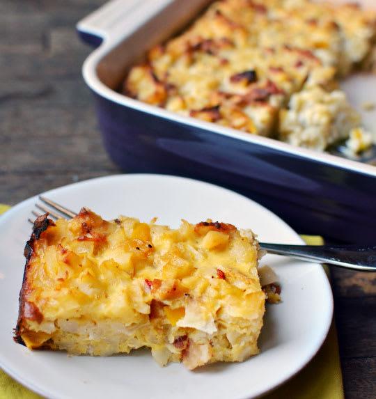 Vegetable Egg Breakfast Casserole: Recipe: Bacon, Potato, And Egg Breakfast Casserole