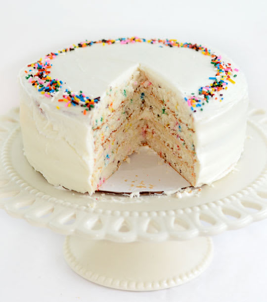 Recipe Funfetti Birthday Cake Kitchn
