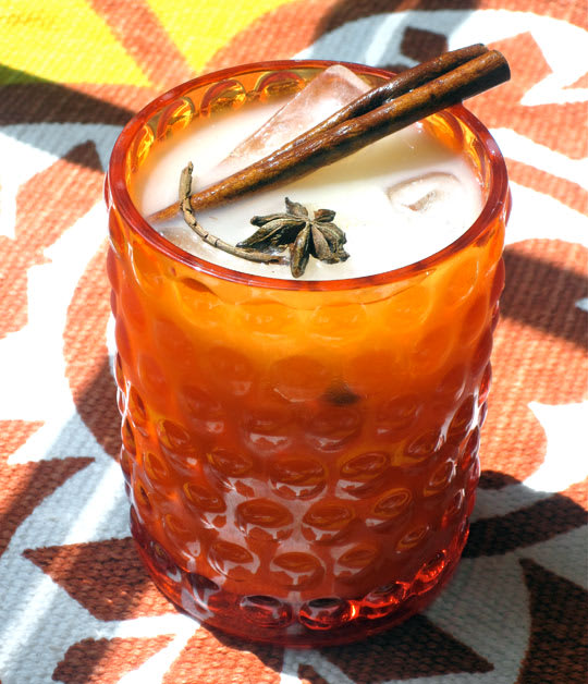 Recipe: Spiked Iced Soy Chai Tea