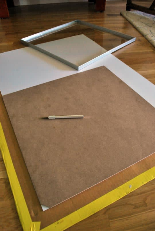 How To Cut A Mat For Framing Artwork Apartment Therapy