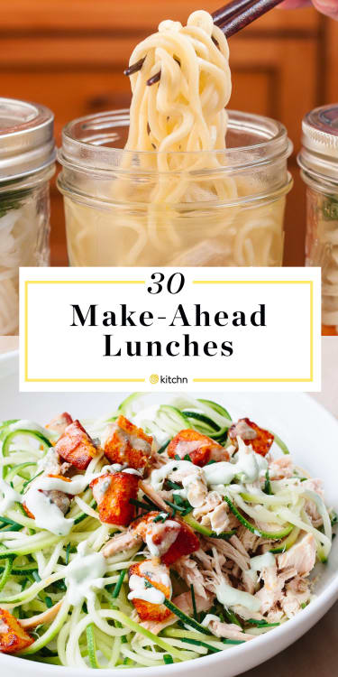 To Give You A Bit Of Boost We Have Over 30 Make Ahead Lunches That Can Pack The Night Before And Even In Big Batch So Youll Lunch