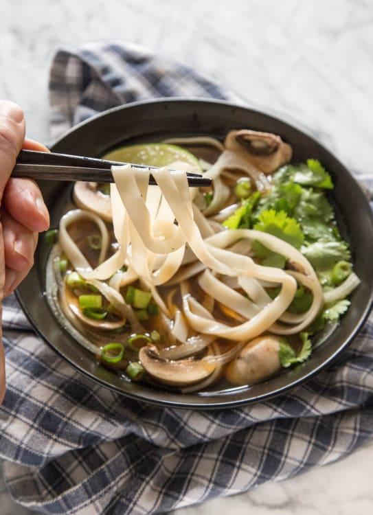 Vegetarian Pho Vietnamese Noodle Soup Kitchn