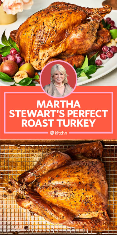 I Tried Martha Stewart S Perfect Roast Turkey And Brine Kitchn