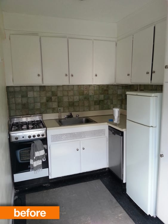Before U0026amp; After: Lisau0027s Brooklyn Kitchen Makeover On A Budget |  Apartment Therapy