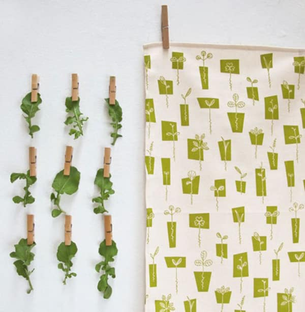 5 fresh and pretty tea towels for spring kitchn