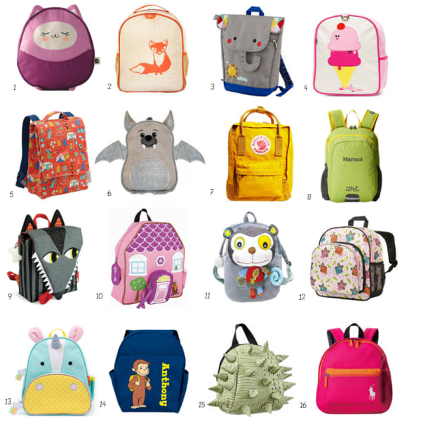 Best Small Backpacks For Toddlers Preschoolers Apartment Therapy