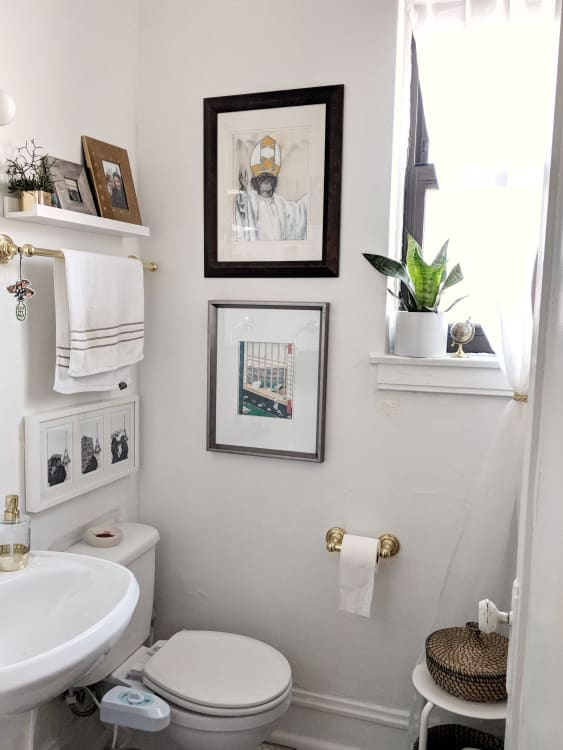 Small Bathroom Design Storage Ideas Apartment Therapy