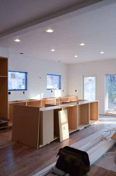 Faith S Kitchen Renovation How We Assembled Amp Installed Our