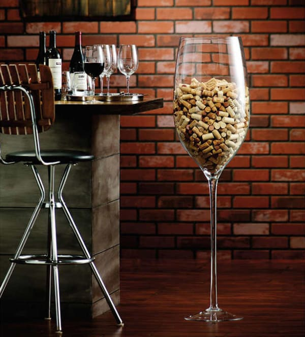 Costco Amazon Oversized Wine Glass Decor Apartment Therapy