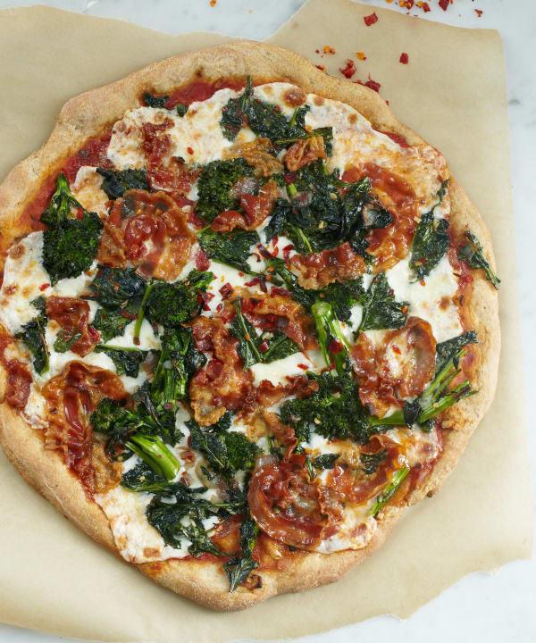 Recipe The Tastiest Whole Grain Pizza Crust Kitchn
