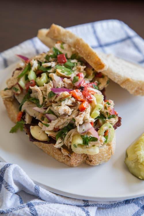 Recipe Italian Chicken Salad Sandwiches Kitchn