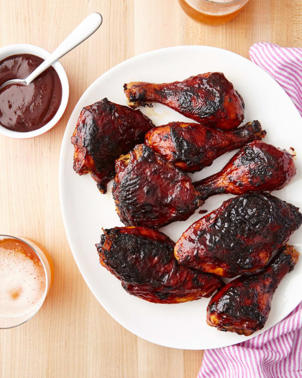 Easy Baked Bbq Chicken Recipe Kitchn