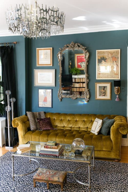 There Were Two Sofas In Our Living Room When I Was A Kid. One Was A Squishy  Velvet 1970s Couch And The Other Was A Victorian Sofa, With Tightly Packed  And ...