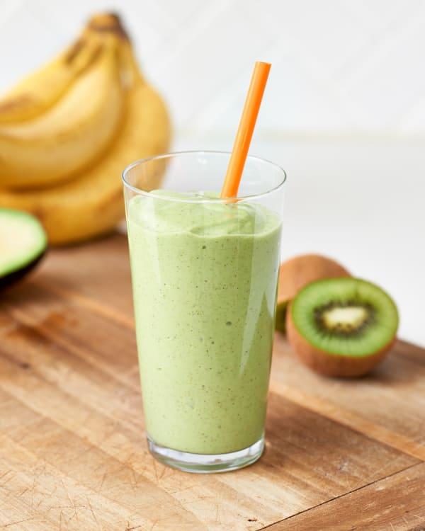 easy banana kiwi smoothie kitchn