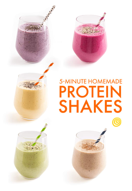High Protein Shakes With No Protein Powder Kitchn