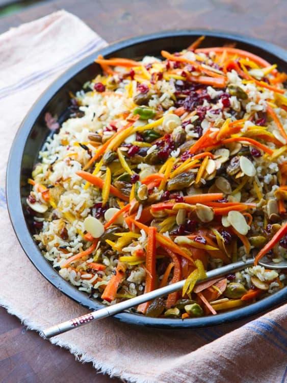 Recipe Iranian Jeweled Rice Kitchn